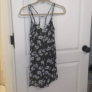 Abercrombie and Fitch green sun dress